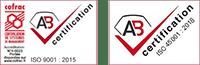 certification ISO 9001 et OSHAS 18001