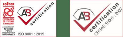ISO 9001 et OHSAS 18001